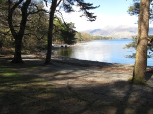 view of Derwent Water c.K.Gilliland